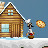 Papa Louie Snow Adventure 2