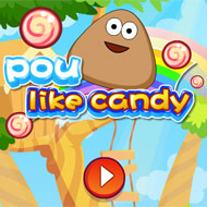 Pou Like Candy