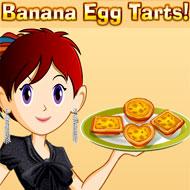 Banana Egg Tarts